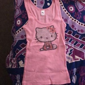 chelona Tops - This is a hello kitty tank top